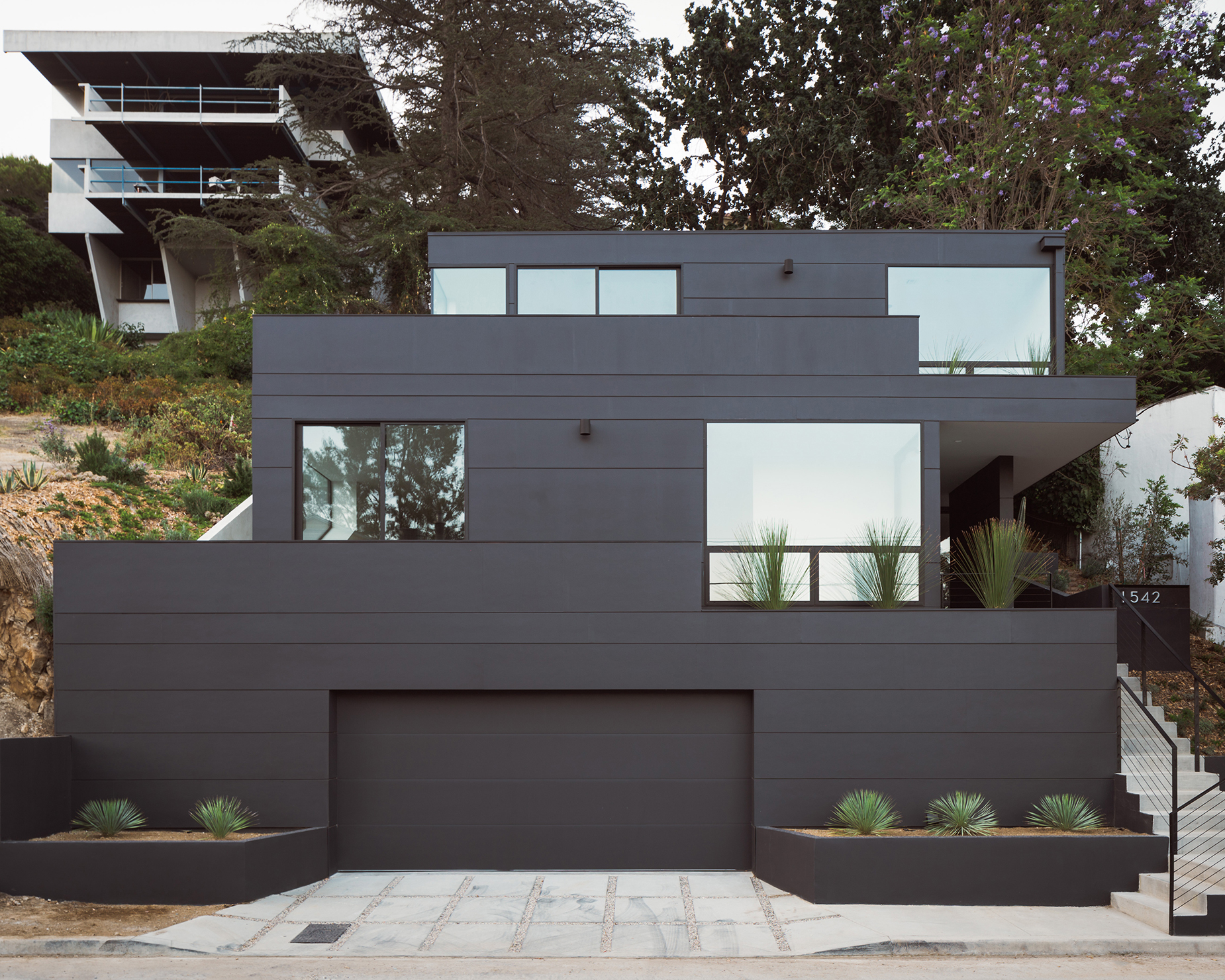 Residential Architecture Award Winners 2018 Aia Los Angeles - Two-storey-single-family-residence-by-baan-design