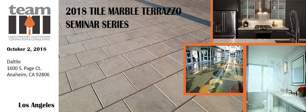 Tile Marble Terrazzo Seminar Series Aia Los Angeles
